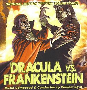 Dracula vs. Frankenstein Sounds of Terror Dracula vs Frankenstein Soundtrack Popretroramacom