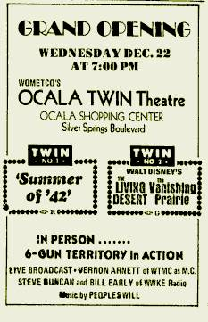 Ocala drive in theater movie times
