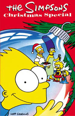 The Simpsons Christmas Episodes.The Simpsons Christmas Special 1989 Popretrorama Com