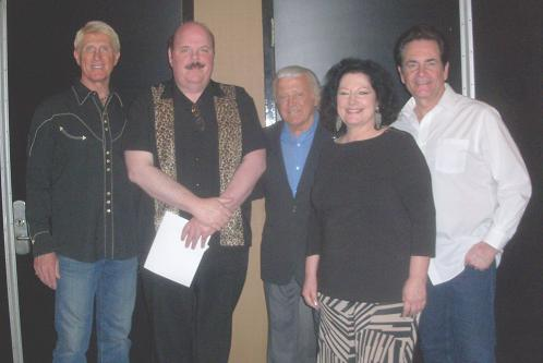 Left to Right: Donovan Tea, ED Tucker, Tony Butala, Tricia Anderson, and Bobby Poynton.