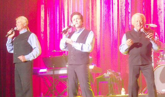 The Lettermen rock the South Point Show Room Theater.