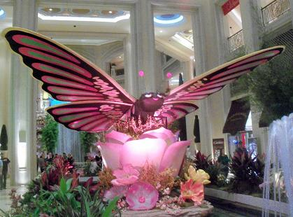 For a moment I thought I had spotted Mothra in the Miracle Mile but it was just one of their impressive displays!